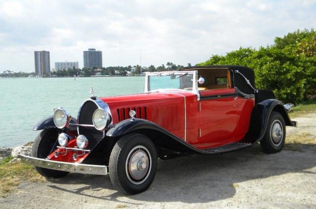 1929 bugatti type 41 royale binder sedanca replica stock 814tv for sale near miami fl fl. Black Bedroom Furniture Sets. Home Design Ideas