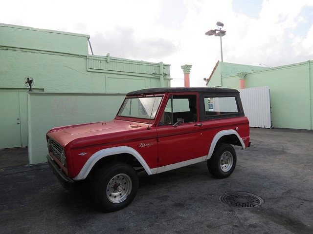 1968 ford bronco stock ky180nb7771390 for sale near for Garage ford vernon