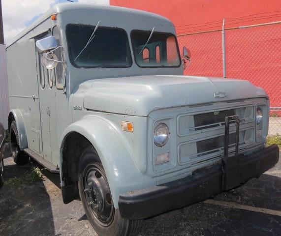 1970 Chevrolet Milk Truck Stock Nb2550am For Sale Near Miami Fl