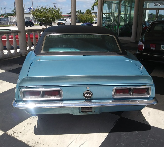 1968 Chevy Camaro Stock 434 For Sale Near Miami Fl Fl