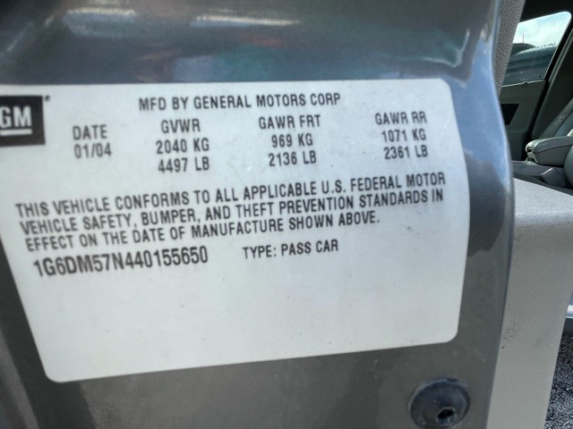 Used 2004 Cadillac CTS  | Miami, FL